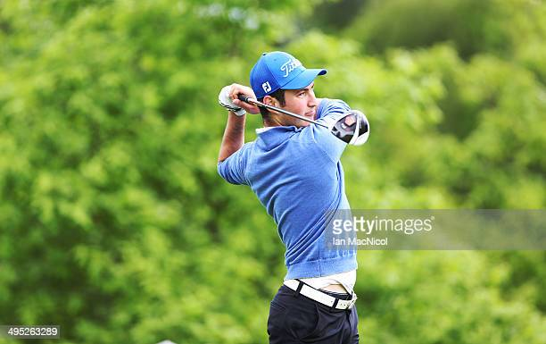 KINGDOM JUNE 02 Kamran Zeynalov of Paul Lawrie Golf Centre tee's off at the first during the Powerade PGA Assistants' Championship Scottish Regional...
