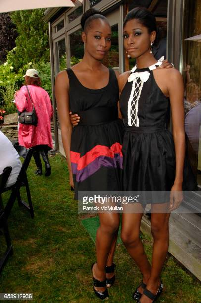 Kamsha Morris and Crystal Morris attend THE HOUSE OF FAITH N' FASHION To Benefit CHABOD'S CHILDREN OF CHERNOBYL With Fashion Show by LORIS DIRAN at...