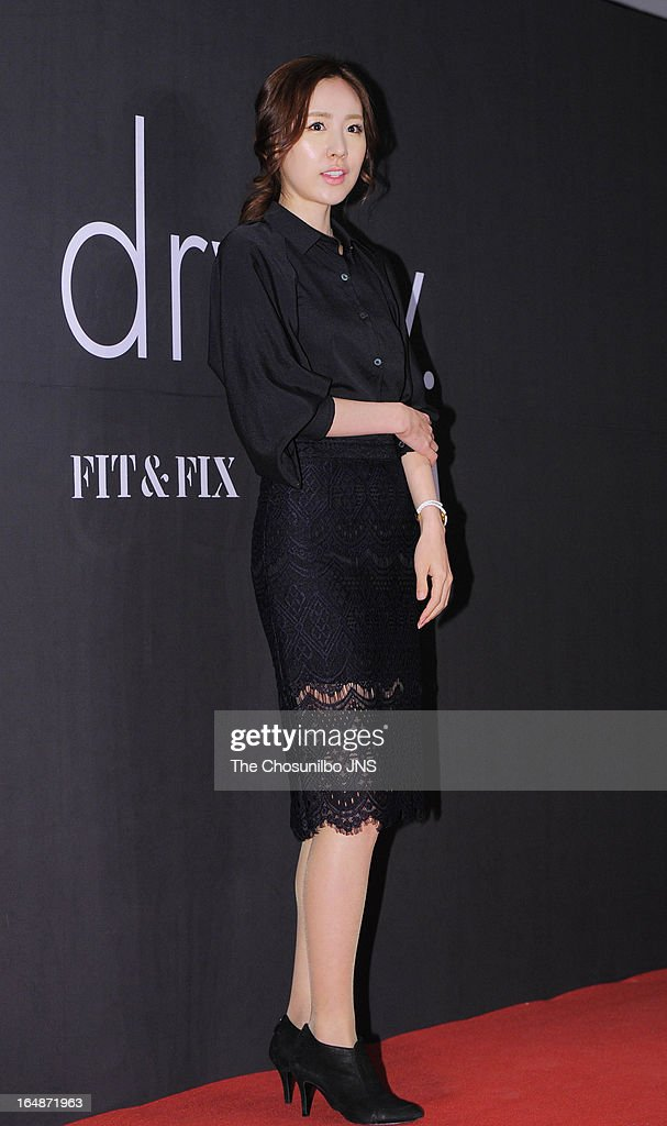 Kan Mi-Youn attends the 'drww.' launch & beauty talk concert at Conrad Hotel on March 28, 2013 in Seoul, South Korea.