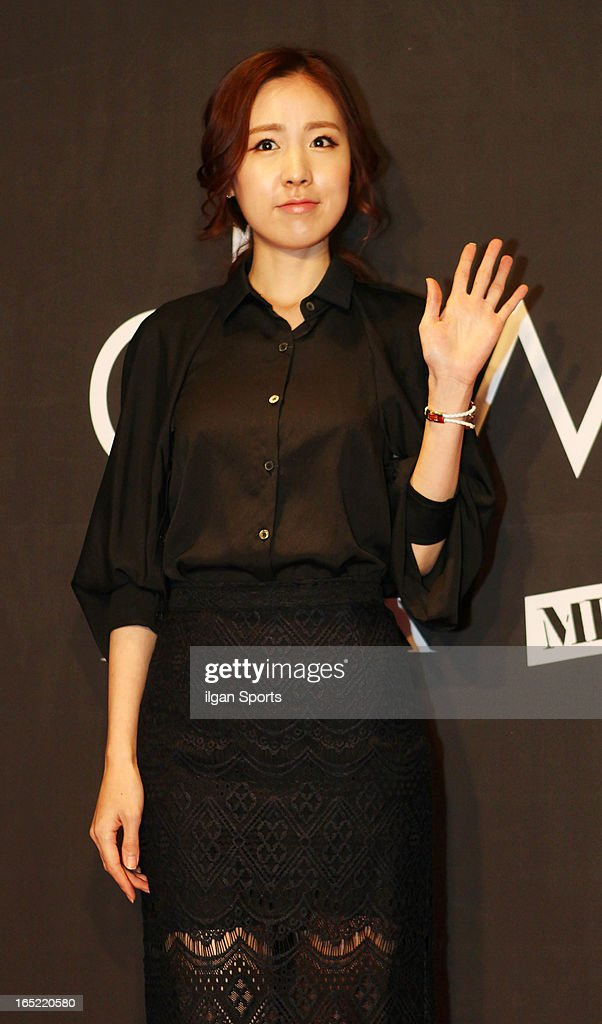 Kan Mi-Youn attends the 'drww.' launch & beauty talk concret at Conrad Hotel on March 28, 2013 in Seoul, South Korea.
