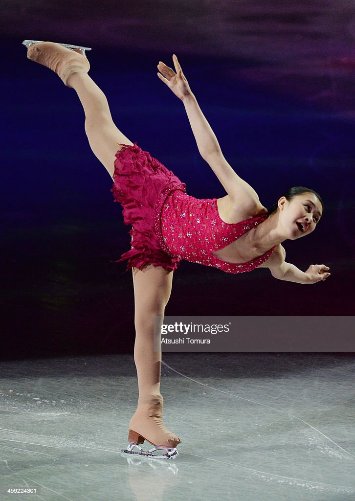 <a gi-track='captionPersonalityLinkClicked' href=/galleries/search?phrase=Kanako+Murakami&family=editorial&specificpeople=6665999 ng-click='$event.stopPropagation()'>Kanako Murakami</a> of Japan performs her routine in the Gala exhibition during All Japan Figure Skating Championships at Saitama Super Arena on December 24, 2013 in Saitama, Japan.