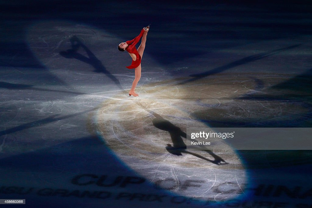 <a gi-track='captionPersonalityLinkClicked' href=/galleries/search?phrase=Kanako+Murakami&family=editorial&specificpeople=6665999 ng-click='$event.stopPropagation()'>Kanako Murakami</a> of Japan performs her routine in the ISU Gala during day three of the Lexus Cup of China 2014 at Oriental Sport Center on December 8, 2013 in Shanghai, China