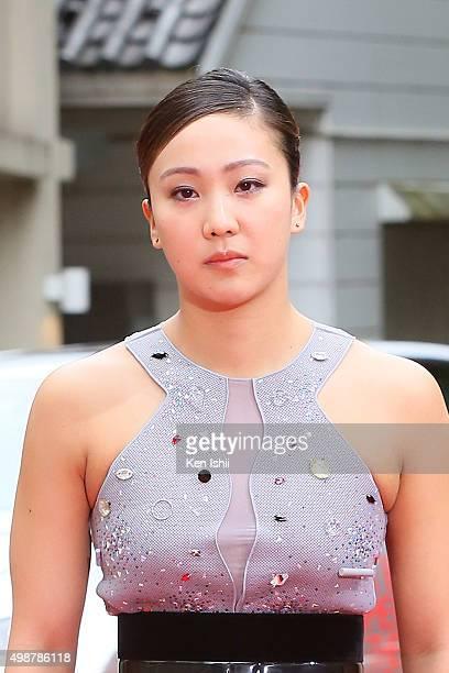 Kanako Watanabe attends the VOGUE JAPAN Women of the Year at the Meguro Gajoen on November 26 2015 in Tokyo Japan