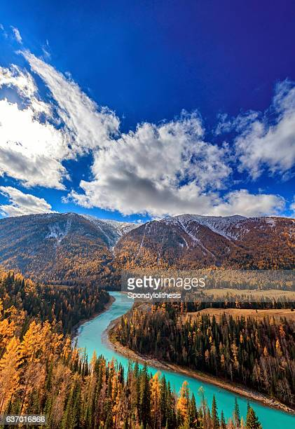 Kanas River View ,  Xinjiang, China