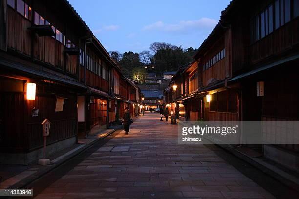Kanazawa at night