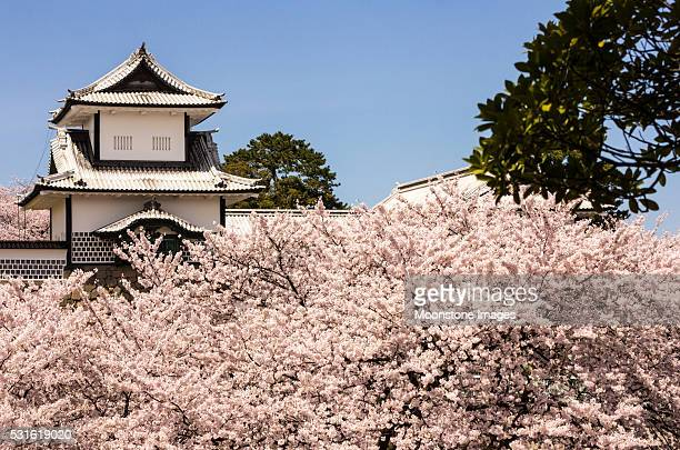 金沢城の石川県(日本)