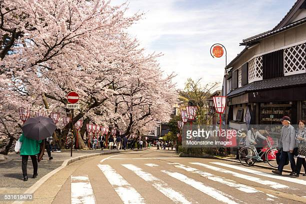 Kanazawa in Ishikawa Prefecture, Japan