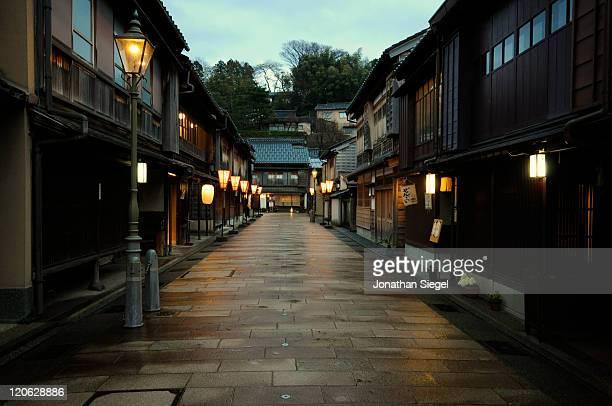Kanazawa street evening Illumination