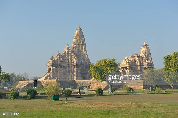 Kandariya Mahadeva Temple the largest temple of the Khajuraho group of monuments a part of UNESCO World Heritage Sites at Khajuraho