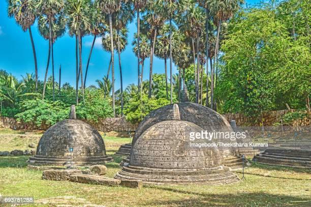 Kandarodai Buddhist dagobas