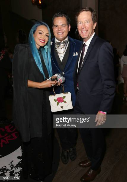 Kandee Johnson guest and Nyx Cosmetics CEO Scott Friedman at the 2017 NYX Professional Makeup FACE Awards at The Shrine Auditorium on August 19 2017...