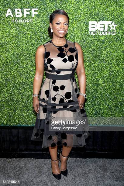 Kandi Burruss attends Pre ABFF Honors Cocktail Party hosted by Debra L Lee Jeff Friday at Cecconi's on February 16 2017 in West Hollywood California