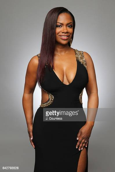 Kandi Burruss poses for a portrait for BET's 2017 American Black Film Festival Honors Awards at The Beverly Hilton Hotel on February 17 2017 in...