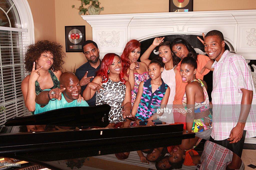 WATER -- 'Kandi Rocks' Episode 105 -- Pictured: (l-r) Britney Tankard, Ben Tankard, Todd Tucker, <a gi-track='captionPersonalityLinkClicked' href=/galleries/search?phrase=Kandi+Burruss&family=editorial&specificpeople=4401257 ng-click='$event.stopPropagation()'>Kandi Burruss</a>, Brooklyn Tankard, Daimond Tankard, Cyrene Tankard, Jewel Tankard, Shanira Tankard, Benji Tankard --