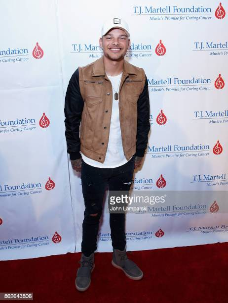 Kane Brown attends TJ Martell 42nd Annual New York Honors Gala at Guastavino's on October 17 2017 in New York City
