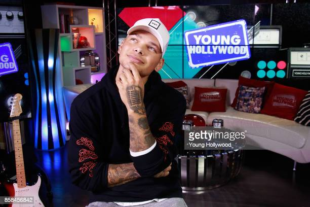 Kane Brown visits the Young Hollywood Studio on October 6 2017 in Los Angeles California