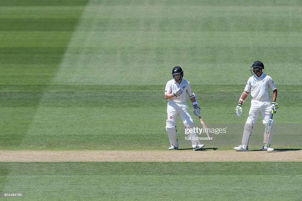 New Zealand v Pakistan - 1st Test: Day 4