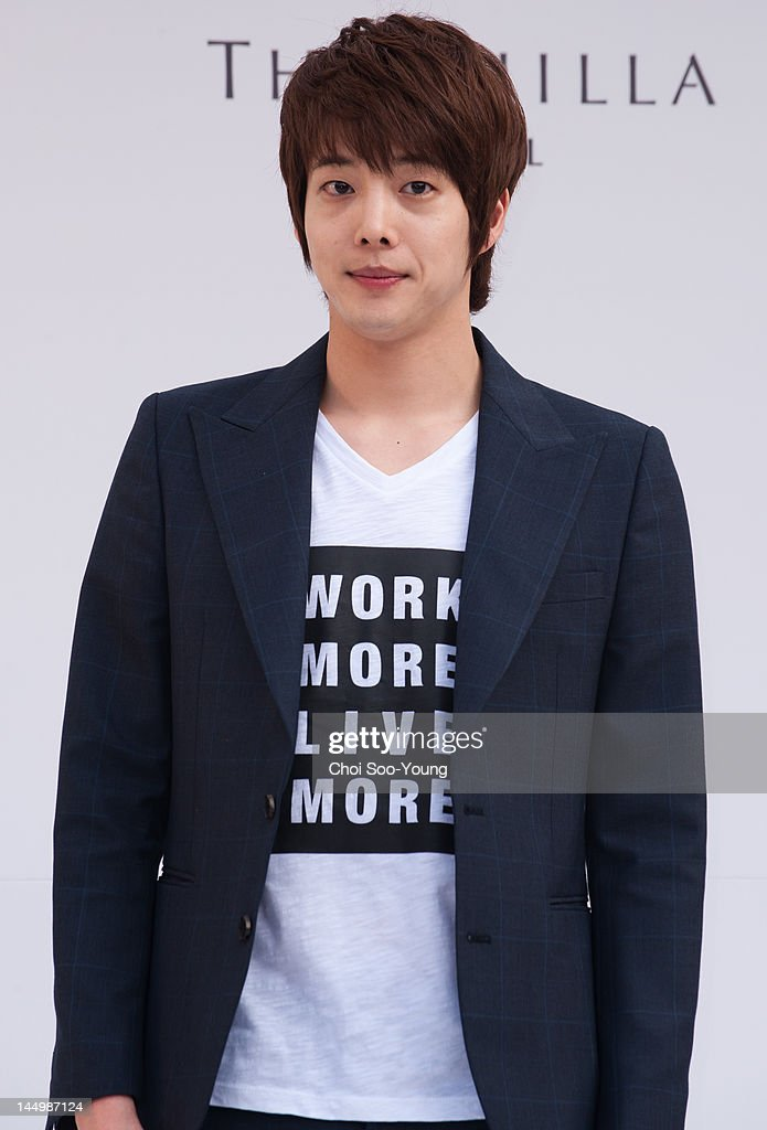 Kang Dong-Ho attends the Jung Jun-Ha Wedding at Shilla hotel on May 20, 2012 in Seoul, South Korea.
