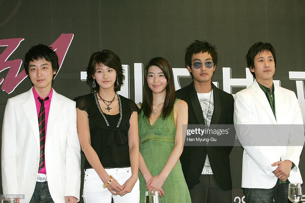 Kang In-Hyung, You In-Young, Kim Min-Sun, Kangta and Lee Sun-Kyun