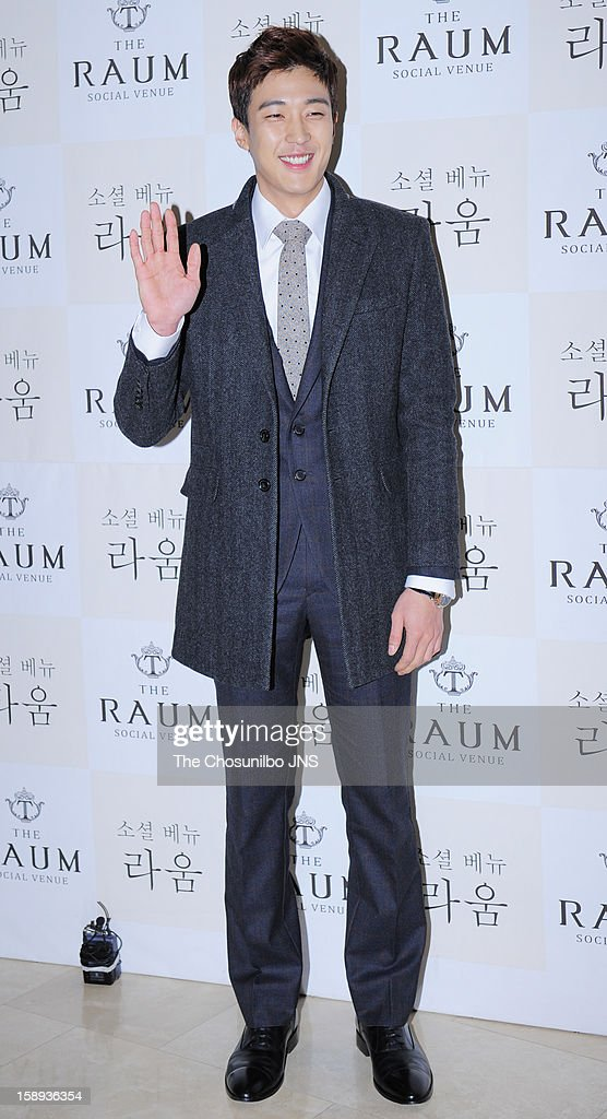 Kang Kyung-Jun attends the Seo Do-Young Wedding at the raum on December 22, 2012 in Seoul, South Korea.