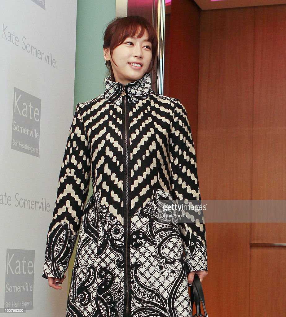 Kang Yea-Won attends the 'Kate Somerville' Launch Event at Park Hyatt Seoul on February 5, 2013 in Seoul, South Korea.
