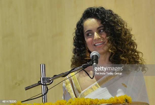 Kangana Ranaut celebrate Swami Vivekanand birthday at Ramkrishna math in Mumbai