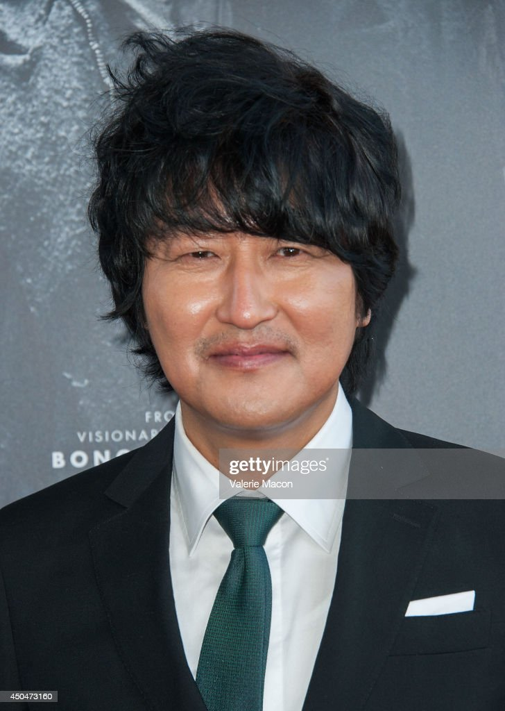 Kang-ho Song arrives at the 2014 Los Angeles Film Festival - Opening Night Premiere Of 'Snowpiercer' at Regal Cinemas L.A. Live on June 11, 2014 in Los Angeles, California.