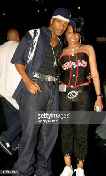 Kangol and Coco Chanel during Mobb Deep Presents 'Amerikaz Nightmare' Album Release at Spirit in New York City New York United States