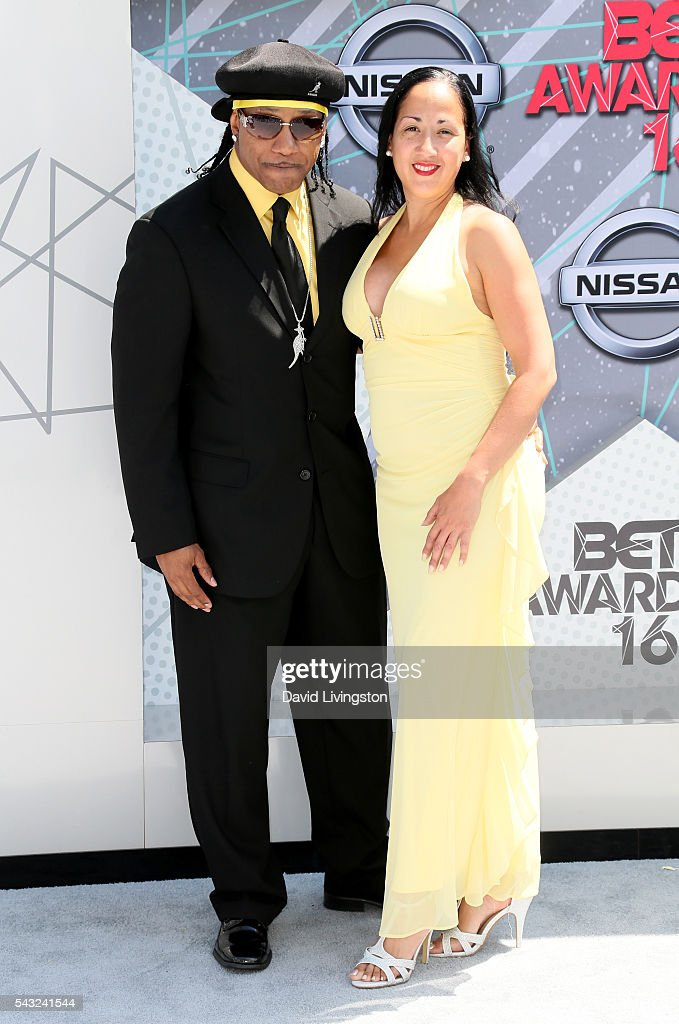 Kangol Kid (L) and guest attend the 2016 BET Awards at Microsoft Theater on June 26, 2016 in Los Angeles, California.