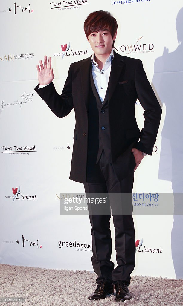 <a gi-track='captionPersonalityLinkClicked' href=/galleries/search?phrase=Kangta&family=editorial&specificpeople=576469 ng-click='$event.stopPropagation()'>Kangta</a> attends Hong Rok-Gi's wedding at Convention diaMant on December 16, 2012 in Seoul, South Korea.