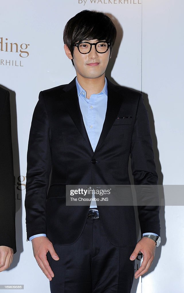 Kangta attends Jung Suk-Won and Baek Ji-Young's wedding at Sheraton Grande Walkerhill Hotel on June 2, 2013 in Seoul, South Korea.