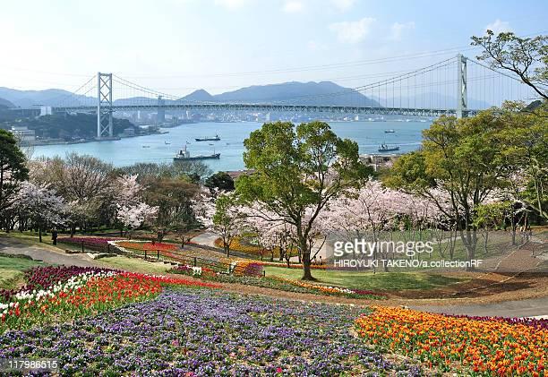 Kanmonkyo Bridge Seen From Park
