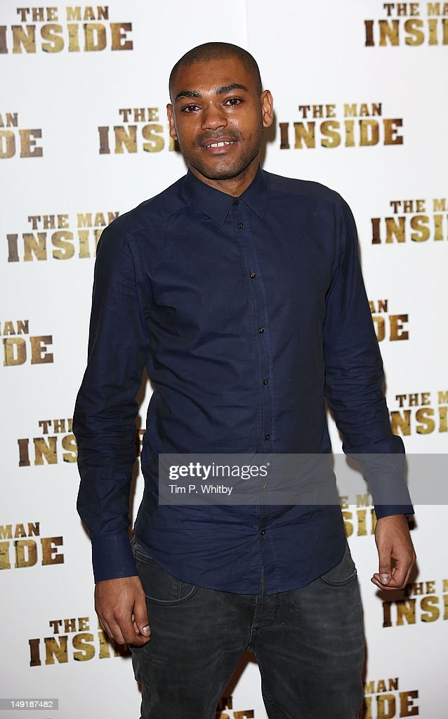 Kano attends the premiere of 'The Man Inside' at Vue Leicester Square on July 24, 2012 in London, England.