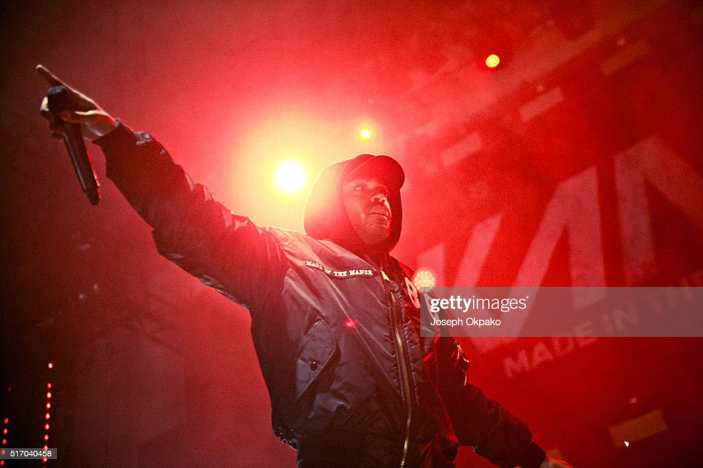 Kano performs at the Troxy on March 19 2016 in London England