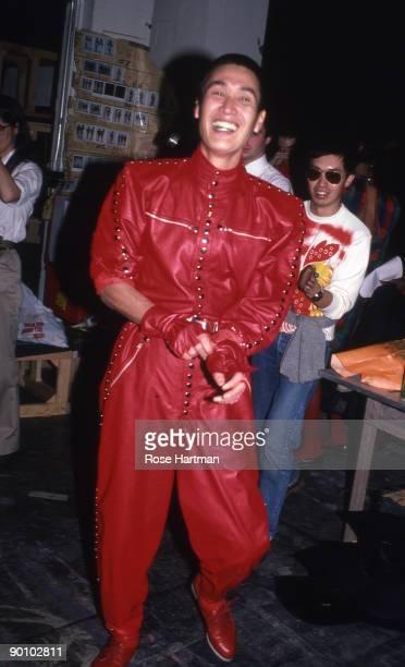 Kansai Yamamoto backstage Skating Rink W 57th St New York 1980