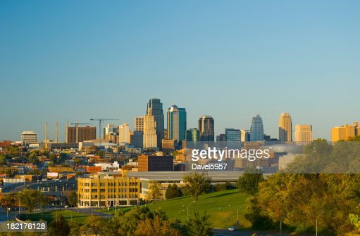 Kansas City at late afternoon