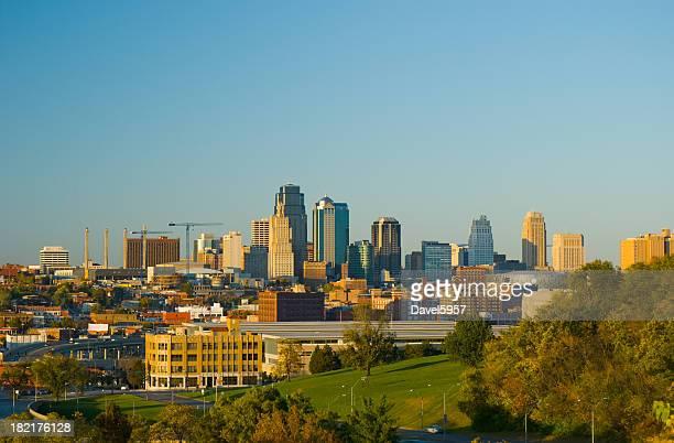 Kansas City at late afternoon