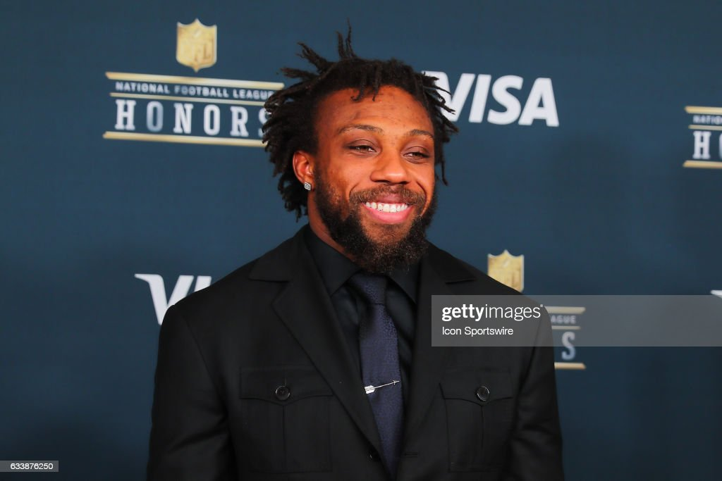 Kansas City Chief Eric Berry on the Red Carpet at the 2017 NFL Honors on February 04, 2017, at the Wortham Theater Center in Houston, Texas.