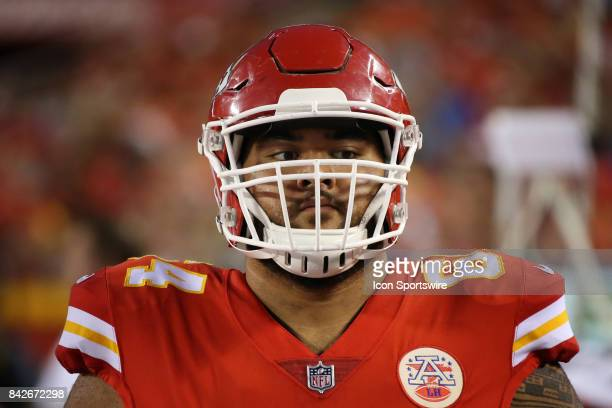 Kansas City Chiefs offensive guard Damien Mama in the first half of an NFL preseason game between the Tennessee Titans and the Kansas City Chiefs on...