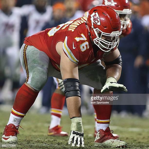 Kansas City Chiefs offensive guard Laurent DuvernayTardif during an AFC West showdown between the Denver Broncos and Kansas City Chiefs on December...