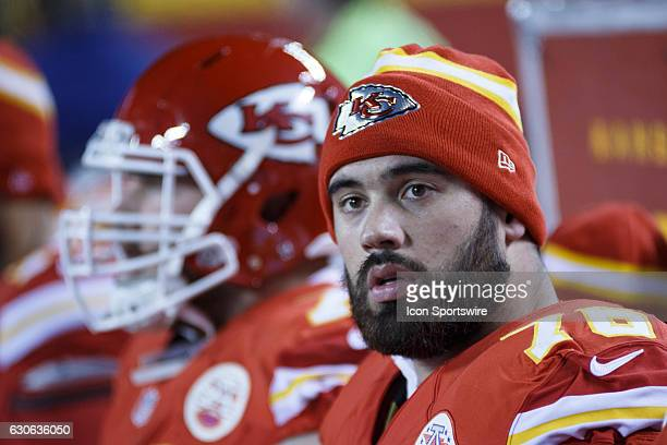 Kansas City Chiefs offensive guard Laurent DuvernayTardif during the NFL AFC West division football game between the Oakland Raiders and the Kansas...