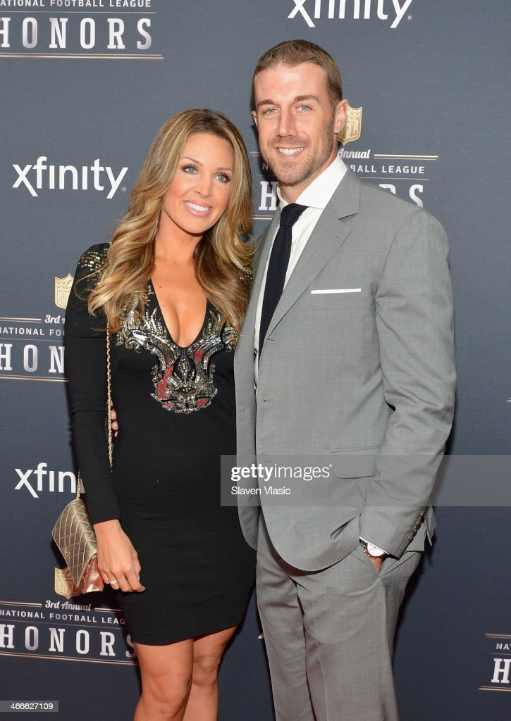 Kansas City Chiefs quarterback Alex Smith and guest attend the 3rd Annual NFL Honors at Radio City Music Hall on February 1, 2014 in New York City.
