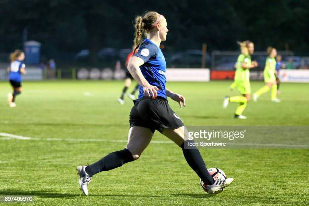 Kansas City defender Becky Sauerbrunn in the second half of an NWSL match between the Seattle Reign FC and FC Kansas City on June 17 2017 at...