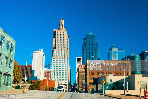 Kansas City Downtown Street Scene