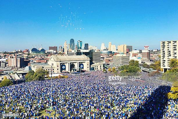 Kansas City Royals World Series celebrazione 2015