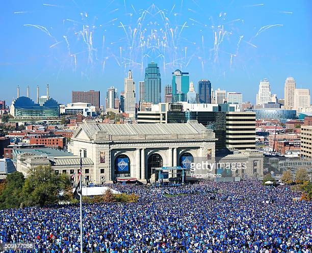 Kansas City Royals World Series celebrazione 2015