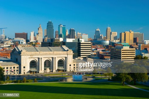 Kansas City skyline and Union Station
