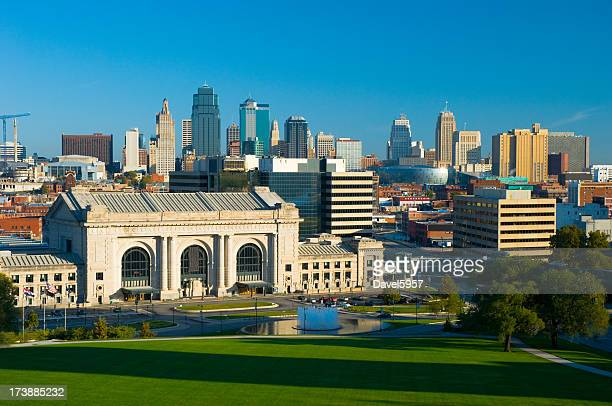 Kansas City skyline e Union Station