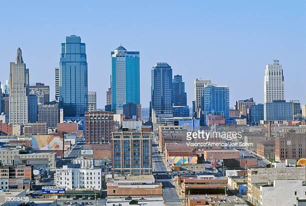 'Kansas City skyline from Crown Center, MO'