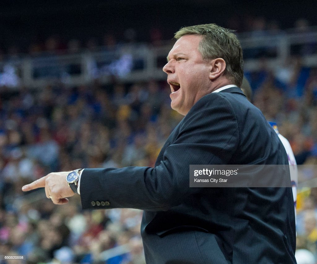 kansas university vs tcu pictures getty images kansas jayhawks head coach bill self yells from the sidelines in the first half during the